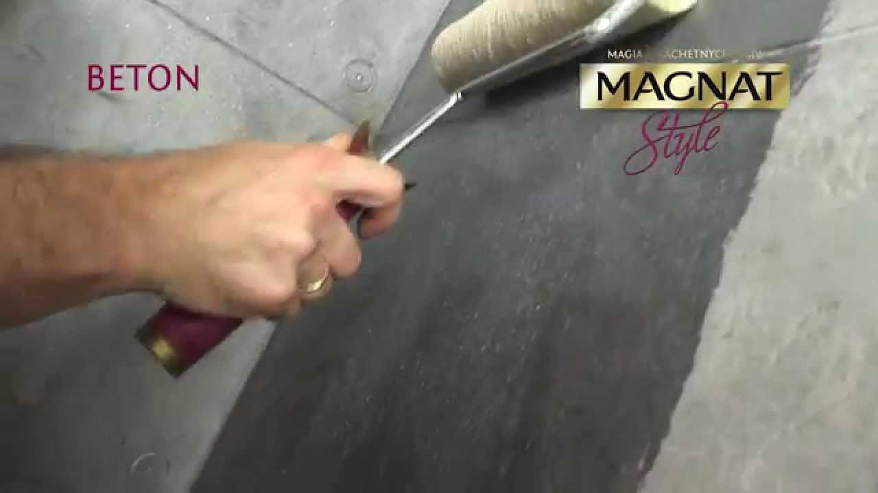 Efekt Betonu Na Scianie Beton Magnat Style Film Instruktazowy