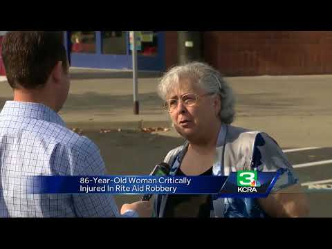 Elderly woman pushed over, knocked out during Citrus Heights robbery