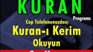 SECDE Suresi - Kurani Kerim oku dinle video izle - Kuran.gen.tr