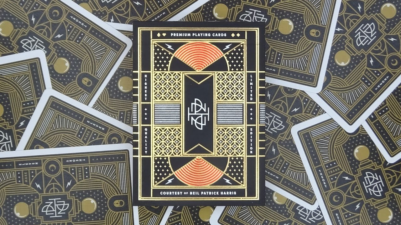 theory11 Neil Patrick Harris Playing Cards Theory 11 NPH-DECK