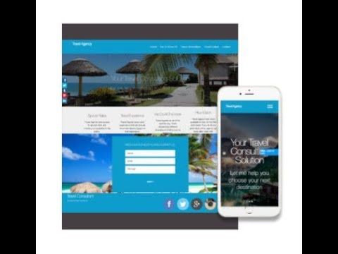 Build A Travel Agency Website