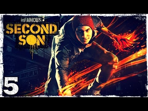 Смотреть прохождение игры [PS4] InFamous: Second Son. # 5: Мастер граффити.