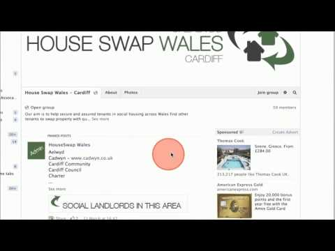 How to use House Swap Wales