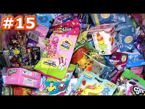 Random Blind Bag Box Episode #15 - Shopkins, Lego, Spongebob Mega Bloks, Crystal Surprise Babies