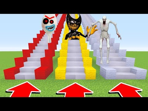 DO NOT CHOOSE THE WRONG STAIRS (FORKY.EXE, INK BENDY , SCP 096)(Ps3/Xbox360/PS4/XboxOne/PE/MCPE)