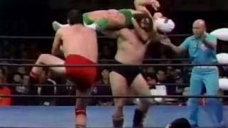 【ブロディ初来日】G・馬場/デストロイヤーvsブルーザーブロディ/キング・イヤウケア79'Giant Baba/The Destroyer vs Bruiser Brody/Kin