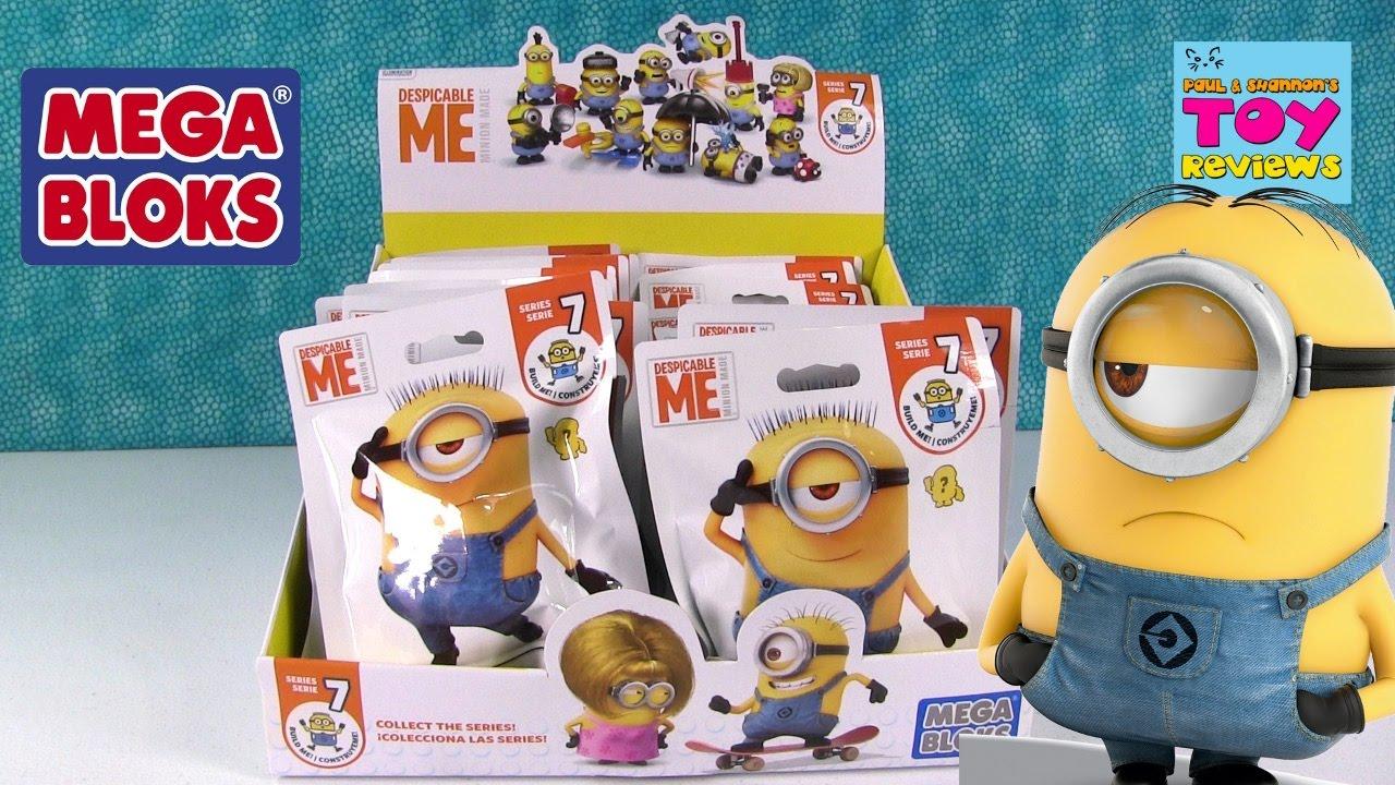 Minions Despicable Me Mega Bloks Series 7 Blind Bag