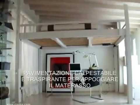 Cinius Presenta Il Letto A Soppalco Rising