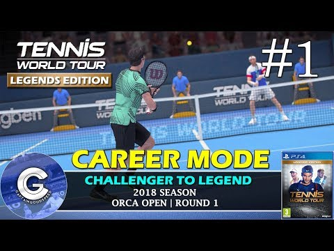 Let's Play Tennis World Tour | Career Mode #1 | THE JOURNEY BEGINS! | First Impressions