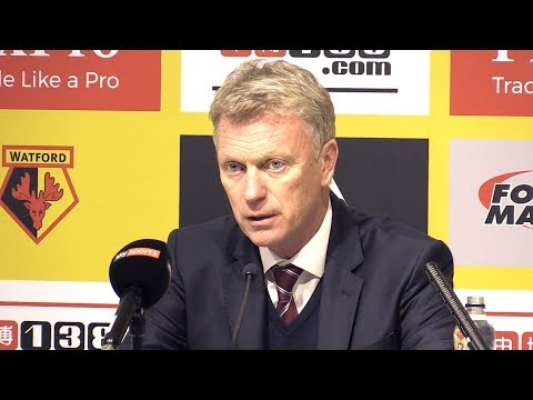 Watford 2-0 West Ham - David Moyes Post Match Press Conference - Premier League #WATWHU