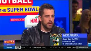 Aaron Rodgers evaluating Tom Brady | Good Morning Football