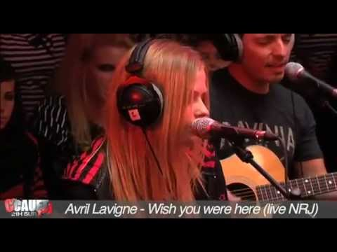 Avril Lavigne - Wish You Were Here [Live Acoustic @ NRJ 16.Sep.2011]