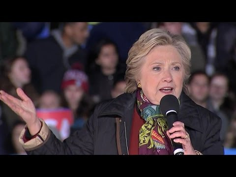 Full Video: Hillary Clinton appeals to voters in Philly
