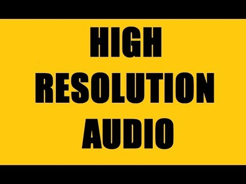 High Resoluti Audio Formats  FLAC, ALAC, WAV, AIFF, DSD  24bit192kHz Audio