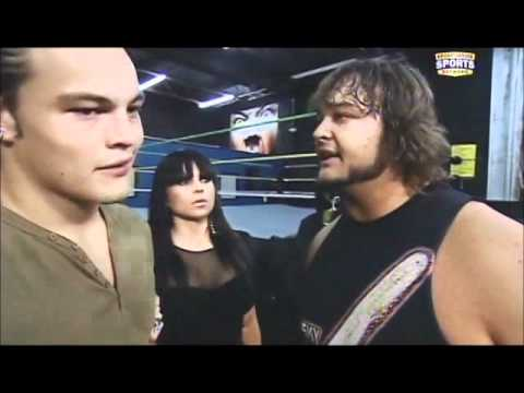 Briley Pierce Interviews Bo Rotundo & Aksana - FCW TV 09 04 2011