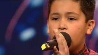 Repeat youtube video Shaheen Jafargholi - Britain's Got Talent 2009 - Show 2