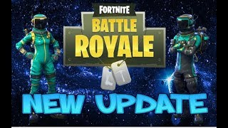 FORTNITE NEW UPDATE TOXIC TROOPER N HAZARD AGENT SKIN N MELTDOWN GLIDER N AUTOCLEANE AXE