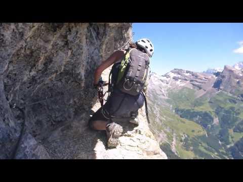 Switzerland's longest Via Ferrata - Leukerbad