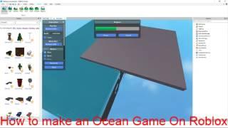Come avviare una mappa oceanica in studio roblox