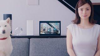 ソフトバンクは、上戸彩、白戸次郎(※お父さん 声:北大路欣也)、的場浩司が出演する「SoftBank Air(ソフトバンクエアー)」のWEB動画『工事がいらない』篇を4日に公開。