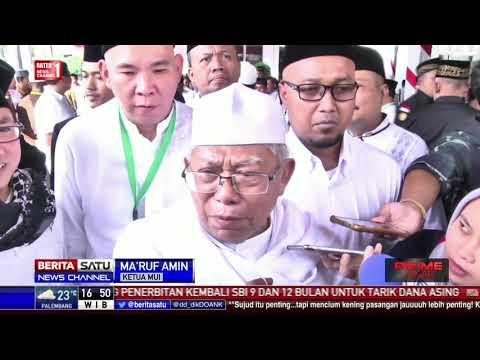 Ma'ruf Amin Siap Jadi Cawapres Jokowi Bila Dibutuhkan