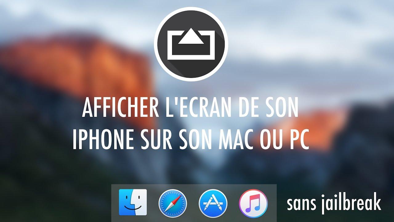 Comment Afficher L Ecran De Son Iphone Sur Pc