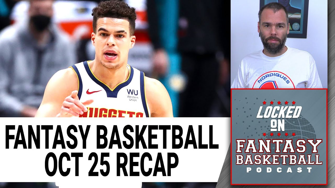 Download Is Michael Porter Jr.'s Value Shot? | NBA Fantasy Basketball Game Recaps | Monday October 25