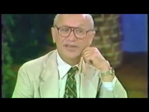 Milton Friedman: Regulatory Capture