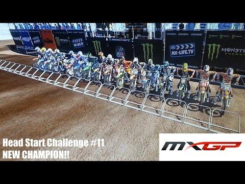 MXGP Head Start Challenge #11 New Bike! New Champion!