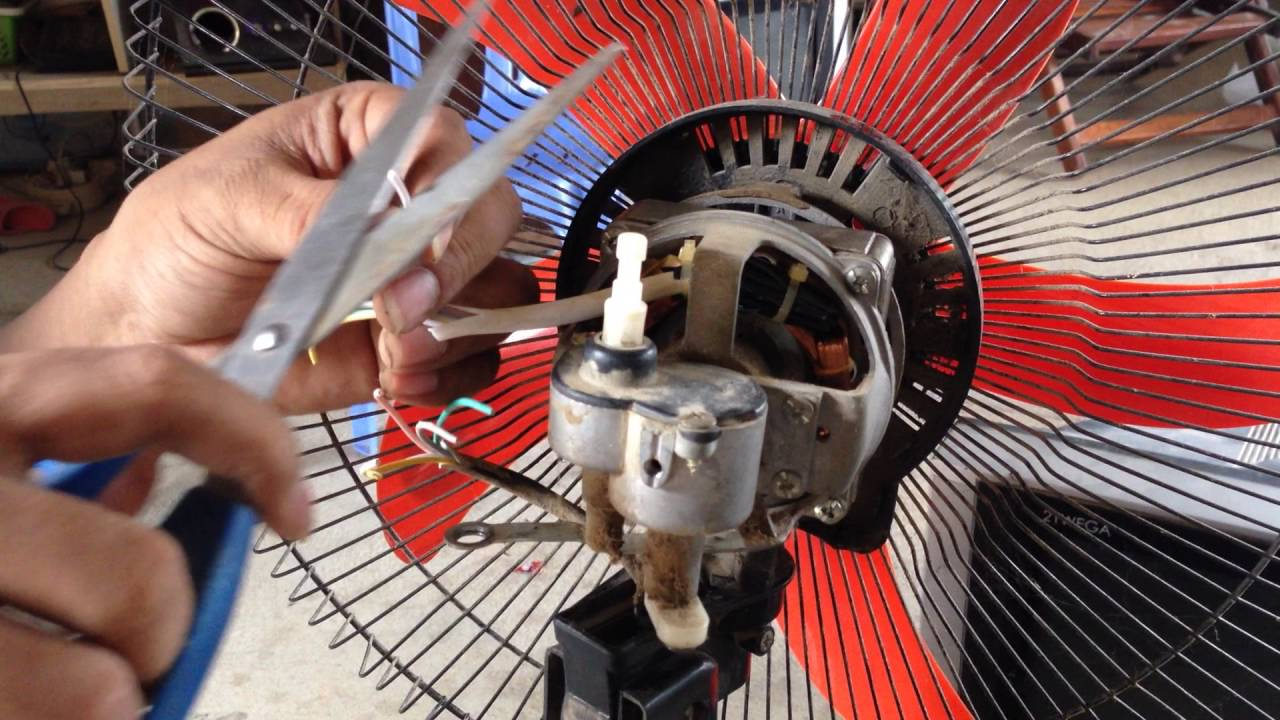 How to Fix or Repair , Broken fan motor diagnosis for repair | Repair standding fan  YouTube