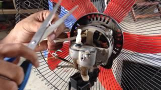 How to Fix or Repair , Broken fan motor diagnosis for repair | Repair standding  fan