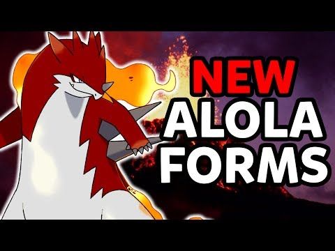 Alolan Typhlosion! New Alola Form Pokémon for Pokémon Ultra Sun and Ultra Moon Spotlight