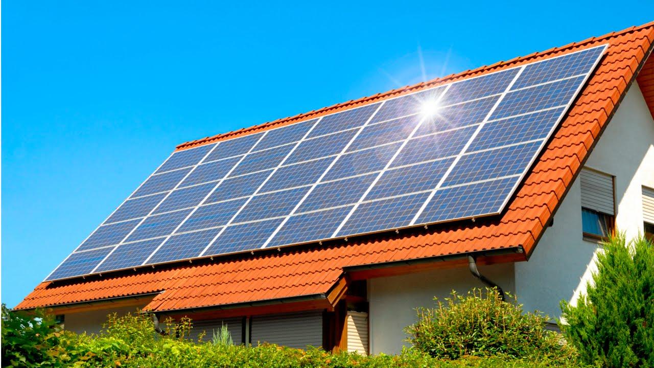 Curso energia solar para o meio rural painel solar - Casas con placas solares ...
