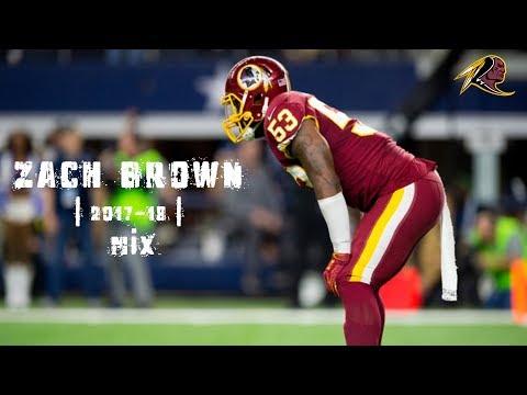 Zach Brown | 2017-18 | Redskins Mix ᴴᴰ