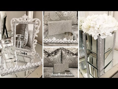 DIY Home Decor | Dollar Tree DIY Glam & Mirror Decor