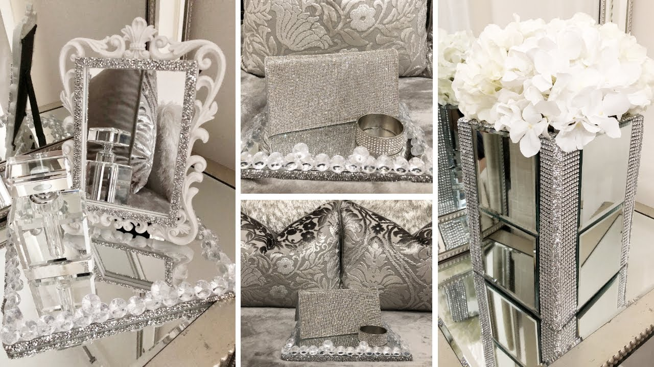 Dollar Tree DIY Glam & Mirror Decor