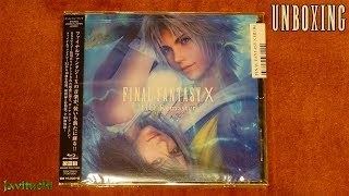 Unboxing Final Fantasy X HD Remaster Original Soundtrack [Blu-Ray]