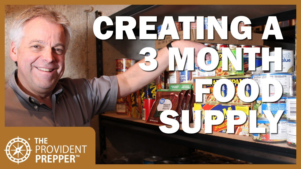 7 Creative Ways to Build a 3 Month Food Supply