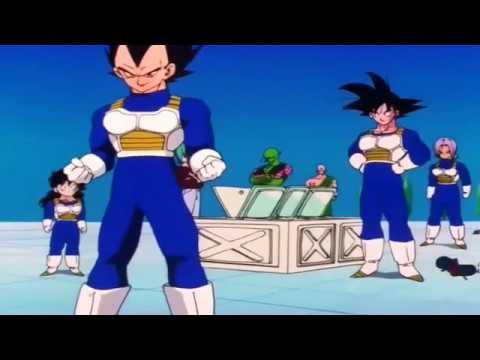 Los trajes de pelea de los Saiyajin [Latino]