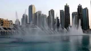 Dubai Dancing Foundain  Dhoom Taana  Vishal Shakhar & Shah Rukh Khan