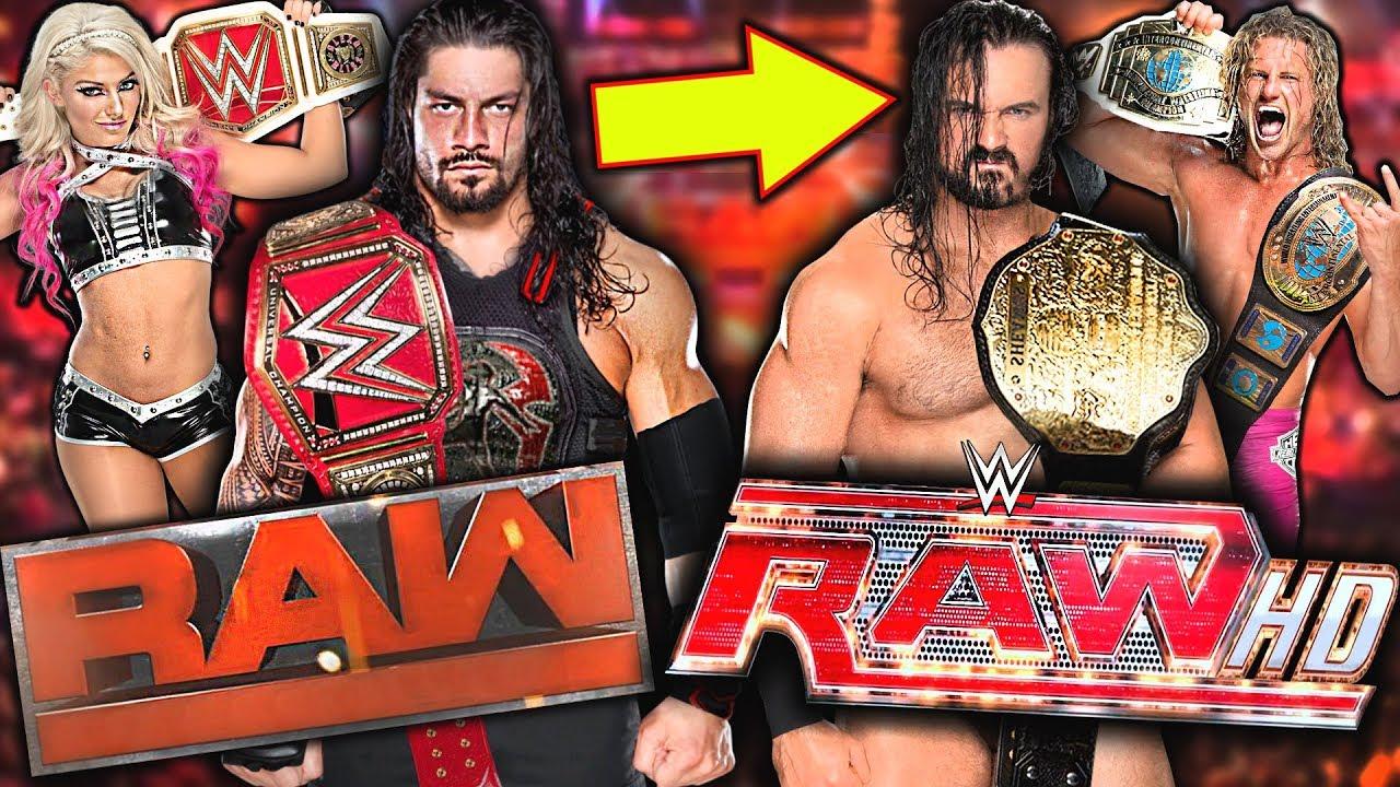 6 Ways WWE Can FIX RAW In 2018