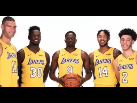 EVERY LAKER SHOULD BE AVAILABLE FOR A TRADE EXCEPT KYLE KUZMA!