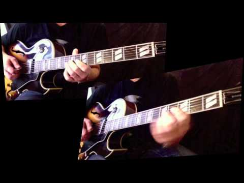 On The Sunny Side Of The Street Melody Guitar Etude Youtube