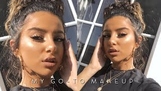 MY GO TO EVERYDAY MAKEUP TUTORIAL (BACK TO SCHOOL/WORK 2018) AD