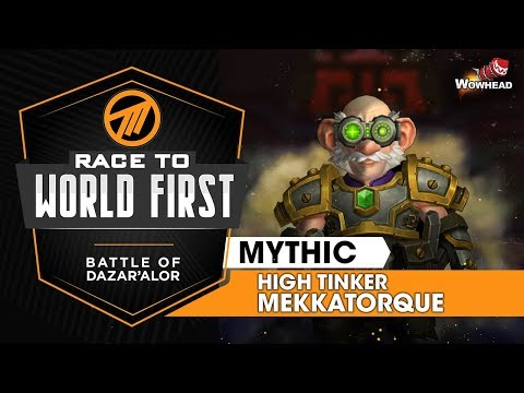 Method VS High Tinker Mekkatorque - Mythic Battle of Dazar'alor