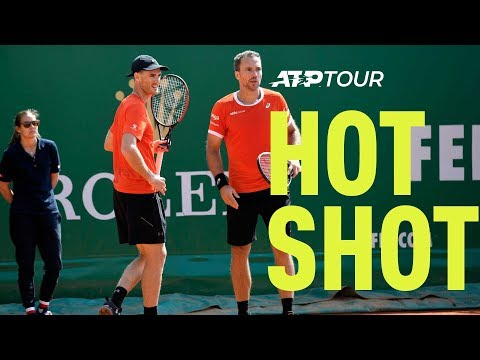 Hot Shot: Murray/Soares Close Out R2 Win In Style At Monte-Carlo 2019