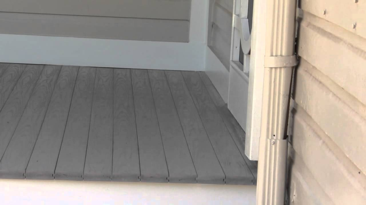 How To Install Porch Floors Video 3
