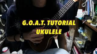 How To Play 'G.O.A.T.' By Polyphia On Ukulele