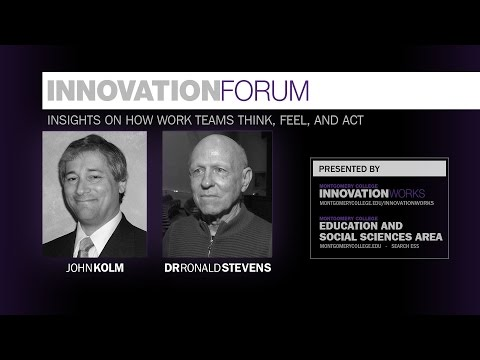 Innovation Forum - How Teams Work, Think, and Feel