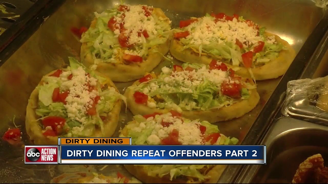 Dirty Dining: 17 Restaurants temporarily closed by inspectors 2-4 ...